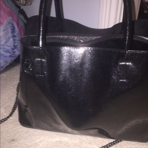 SPARKLY BLACK BAG